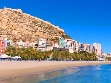 Plage du Postiguet à Alicante