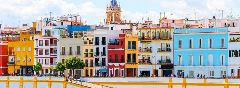 Les quartiers les plus colorés d'Espagne