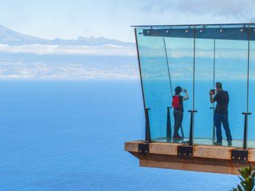 Le Mirador d'Abrante, une plateforme suspendue à plus de 600 mètres