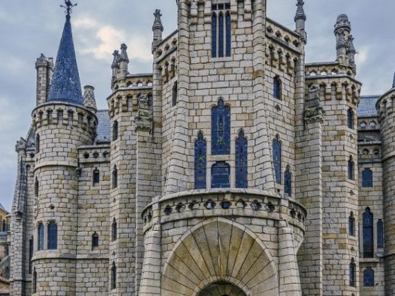 Le palais épiscopal d'Astorga, un joyau moderniste qui semble sortir d'un conte de fées