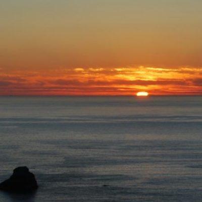 Le plus célèbre coucher de soleil d'Espagne | Le Refuge du Week-end