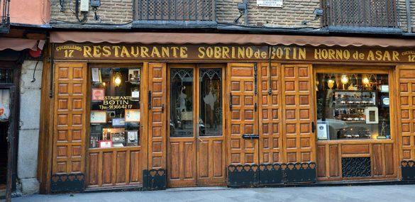 Les bars et restaurants les plus anciens d'Espagne