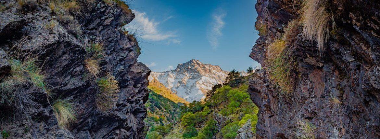 Route Vereda de la Estrella, un sentier fascinant dans la Sierra Nevada