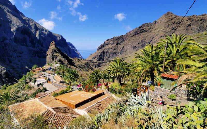 Masca, dans les sommets de Tenerife