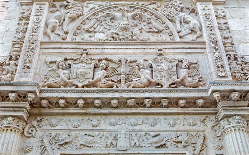 Détail de l'église de Castril