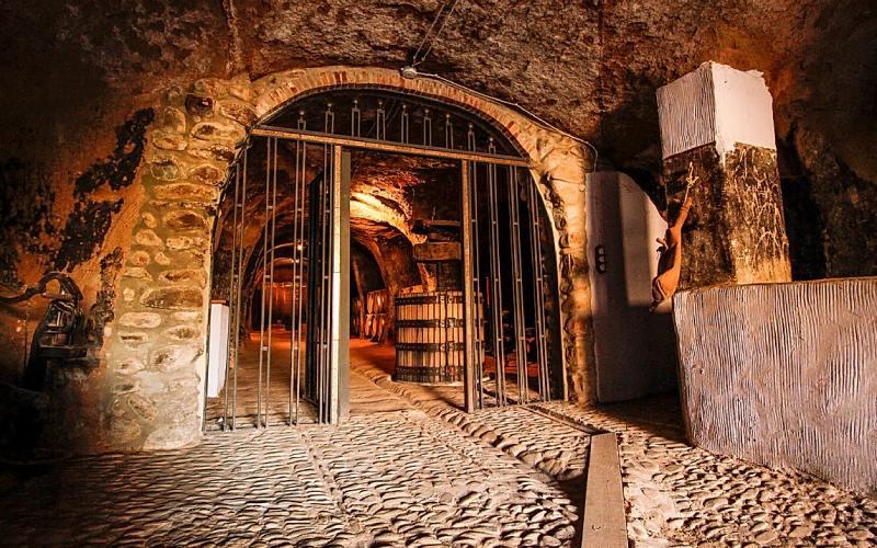 Une des caves-grotte du quartier