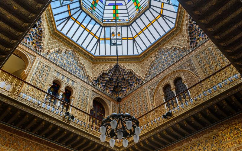 Salle arabe du Casino royal de Murcie