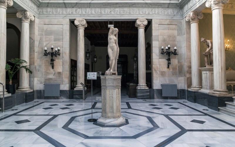 Salle Pompéienne du Casino Royal de Murcie