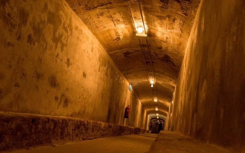 Ces galeries d'Almería ont été utilisées pour se protéger des bombardements pendant la guerre civile