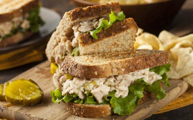 Sandwich aux fruits de mer
