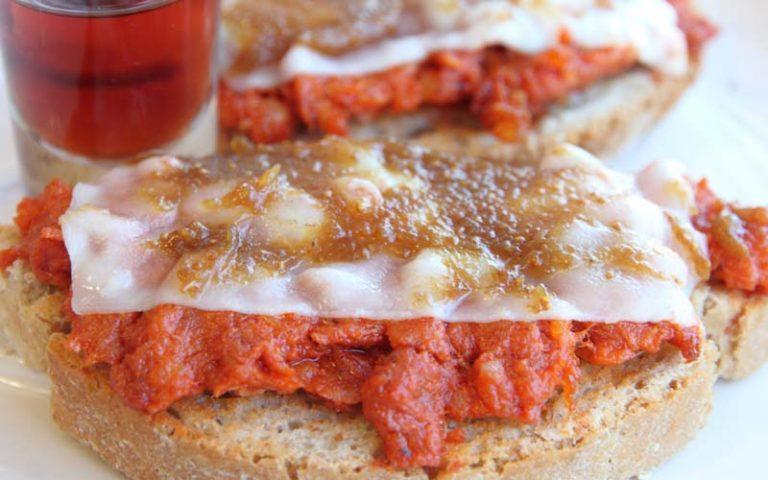 Sandwich au miel et soubressade