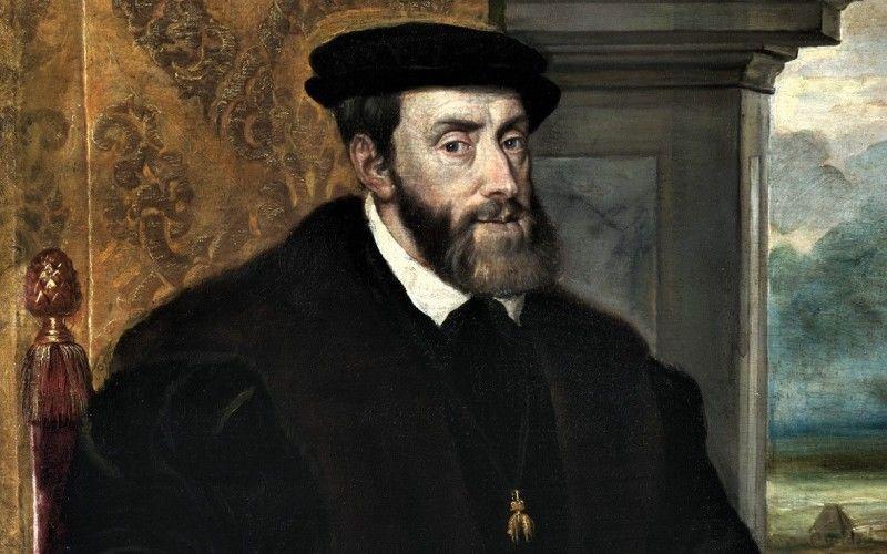 Portrait assis de Charles Quint, par le Titien