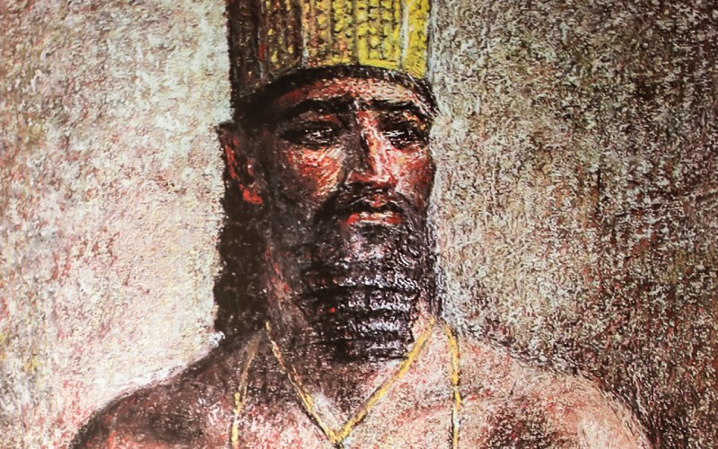 Image d'Argantonio, roi de Tartessos
