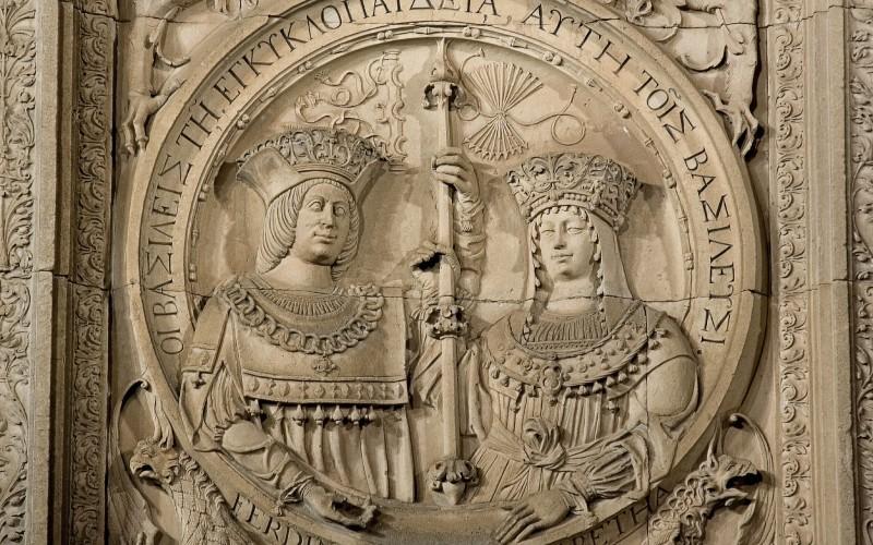 Les Rois Catholiques entrent triomphalement à Grenade le 6 janvier 1492 après la reddition de Boabdil