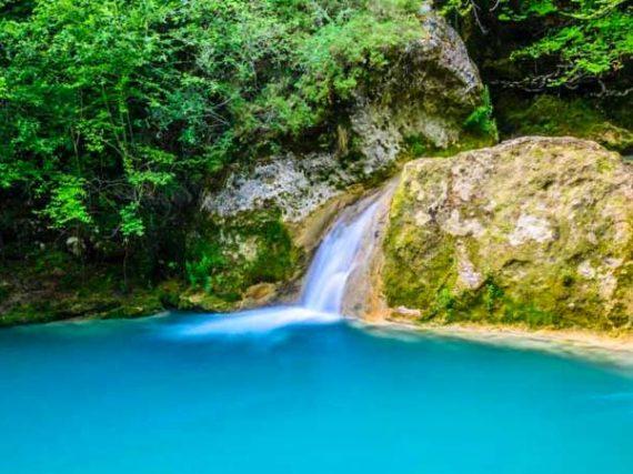 Sources des rivières en Espagne
