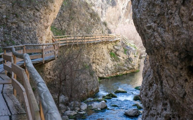 Passerelles de la rivière Castril