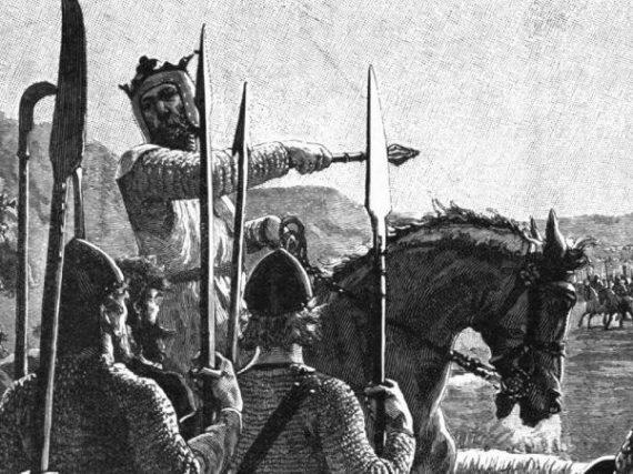 Le jour où le cœur du grand héros écossais a survolé les champs de Malaga