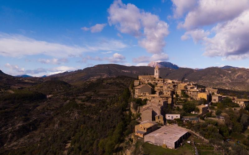 Roda de Isábena a l'honneur d'être la plus petite ville d'Espagne avec une cathédrale