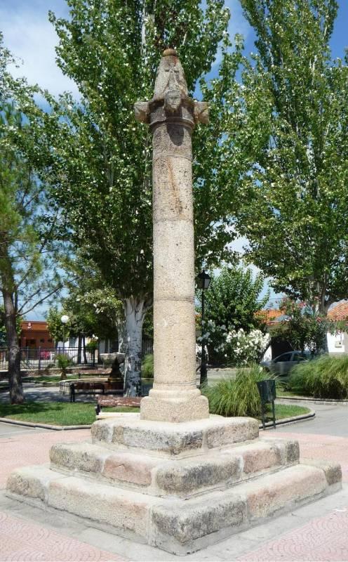 Poteau juridictionnel de Talavera la Vieja à Rosalejos