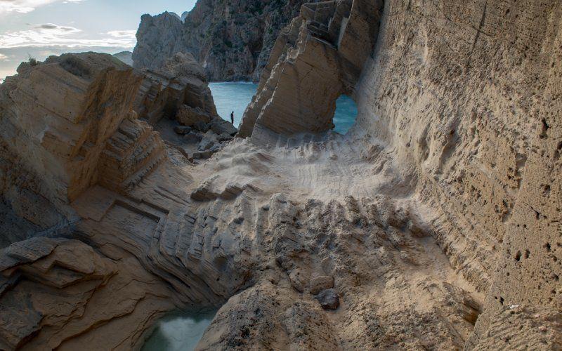Vue panoramique de l'Atlantis à Ibiza