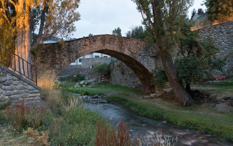 Vieux pont de Sallent de Gállego