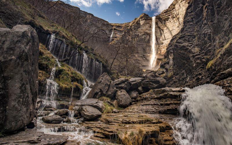 Base de la cascade du Nervión