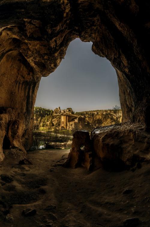 Entrée de la Grande Grotte