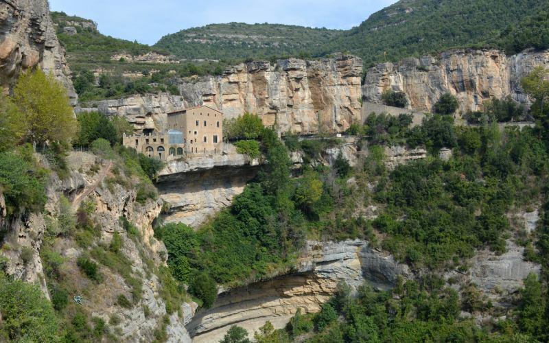 Le monastère et son environnement naturel