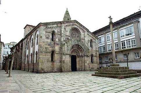 La coruñesa Iglesia de Santa María del Campo