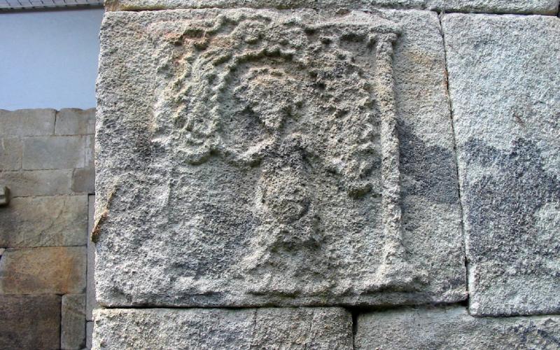Bas-relief de Santa Eulalia de Bóveda