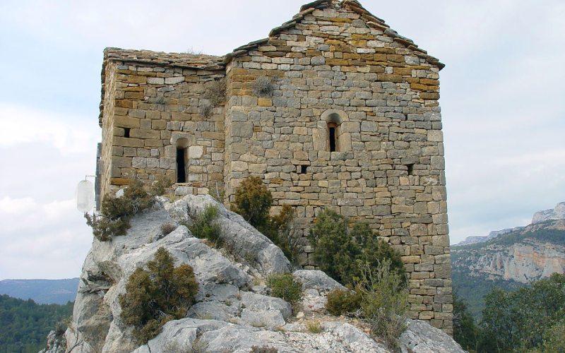 Abside de l'église Santa Quiteria et San Bonifacio