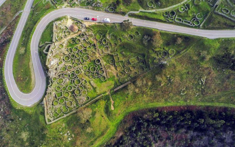 Impact de la route sur le gisement de Santa Tecla