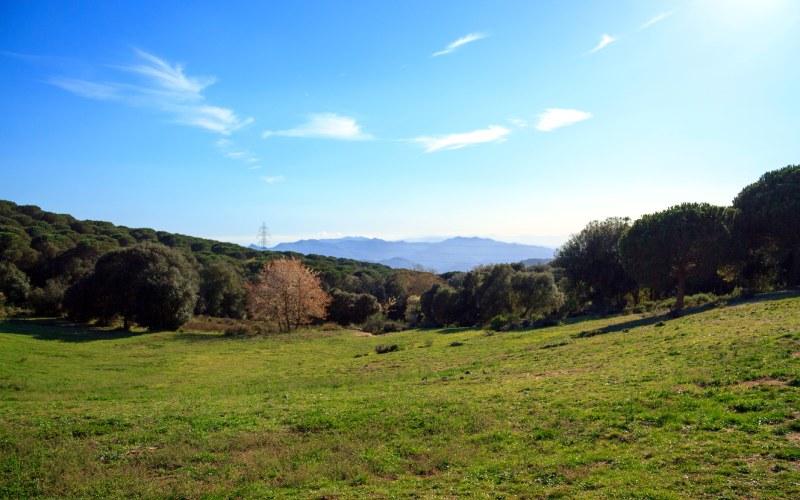Panoramique près du sanctuaire du Corredor