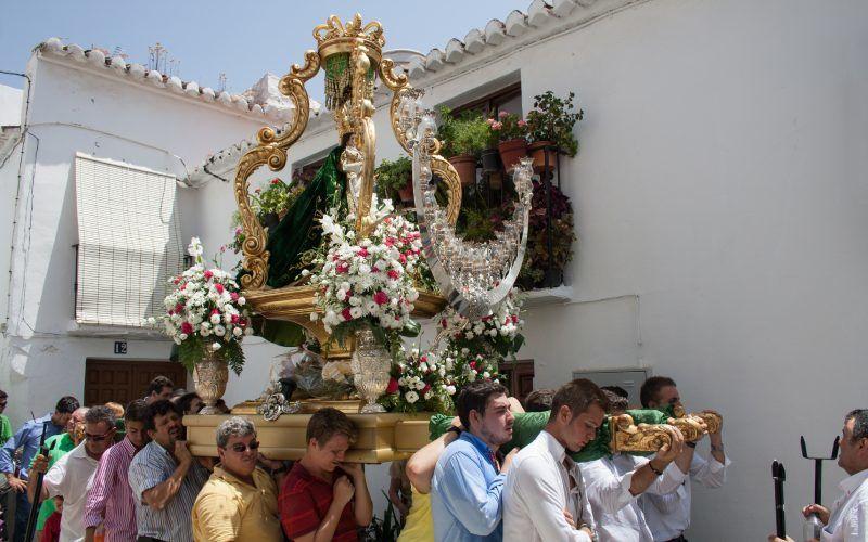 Procession de la Virgen de la Esperanza