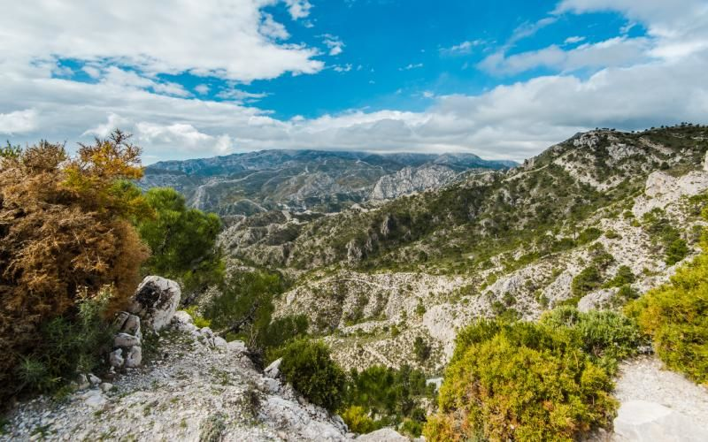 Montagnes de la Sierra de Tejeda