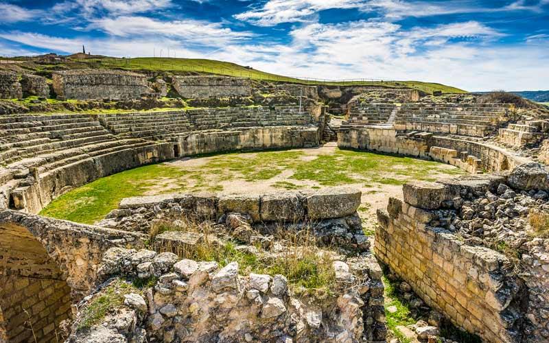 Ruines à Segóbriga (Cuenca)