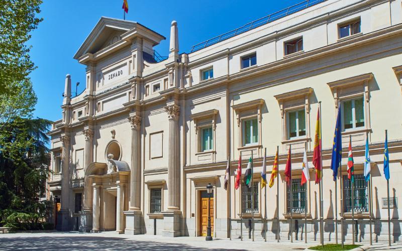 Palais du Sénat à Madrid