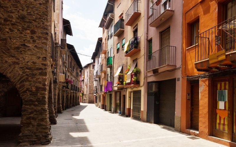 Rues de la Seu d'Urgell