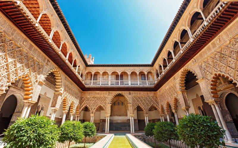 Alcazar royal de Séville