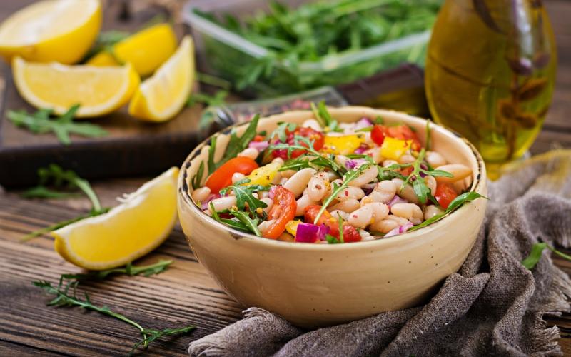 Salade de haricots blancs traditionnelle