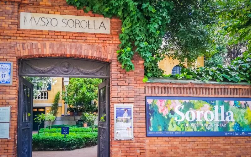 Le jardin de la maison de Sorolla, aujourd'hui un musée