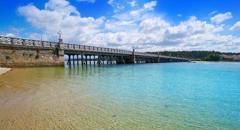 Pont de l'île de La Toja