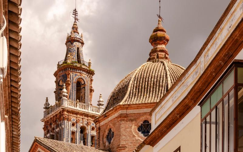 Une des tours qui surveille la ville d'Écija, Séville