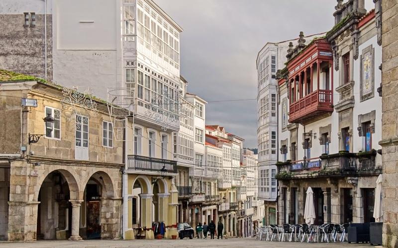La belle ville de Betanzos