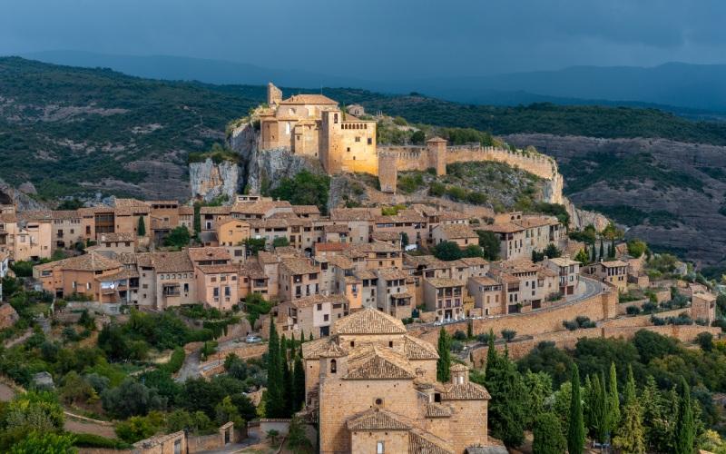 Alquézar est considéré comme l'un des plus beaux villages de Huesca
