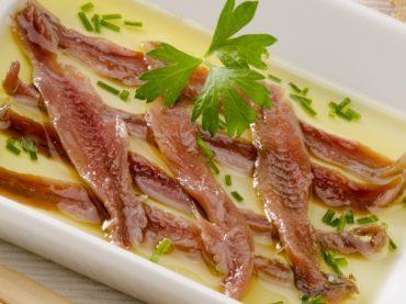 Recette d'anchois au sel, le joyau du cantabrique