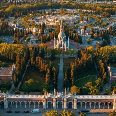 Le cimetière de l'Almudena, l'un des plus grands d'Europe occidentale