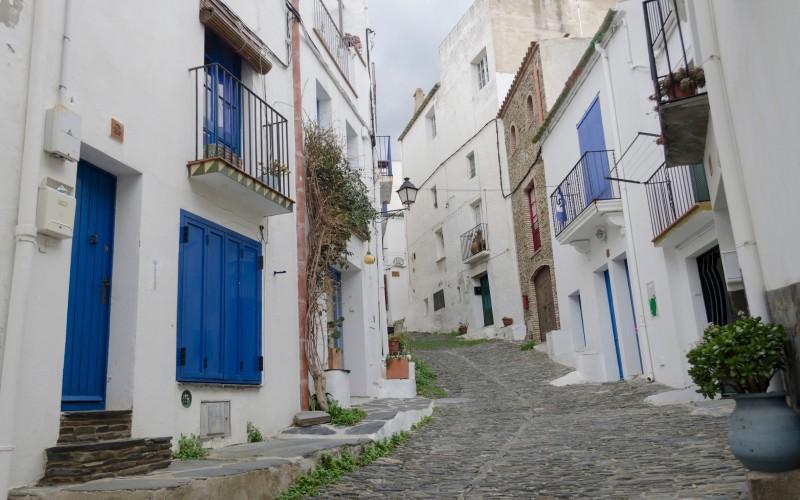Rue du centre-ville de Cadaqués