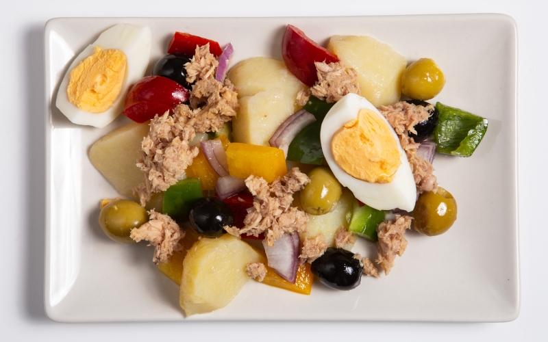 Salade campaganrde à l'espagnole