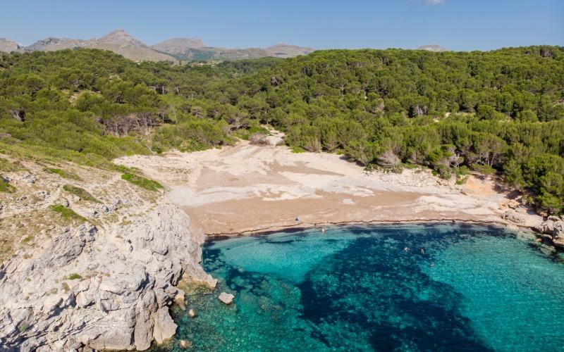 Crique Matzoc dans la Péninsule de Llevant de Majorque